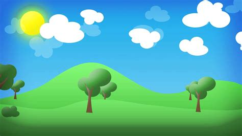 imagenes de paisajes animados paisaje en 2d animado youtube