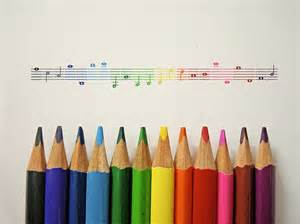 colors soundtrack colors colours crayons notes photography