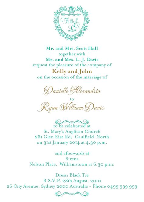wedding invitation time wording inspired wedding invitations wedding