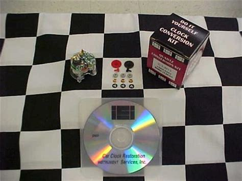 corvette clock repair quartz conversion clock repair kit with dvd