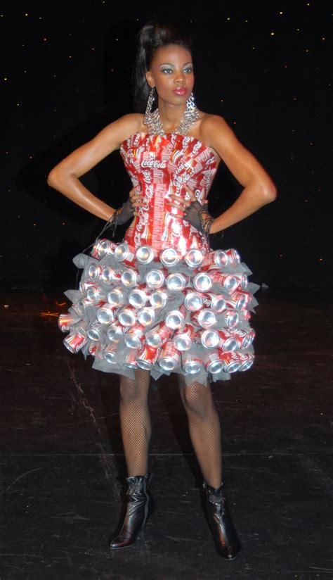 a canny fashion statement coca cola fashion recycled