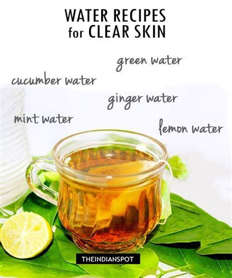 Detox Diet Plan For Glowing Skin by 190 Best Clear Skin Images On