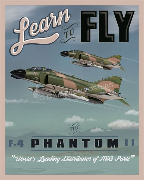 the who flew the f 4 phantom books learn to fly the f 4 phantom squadron posters