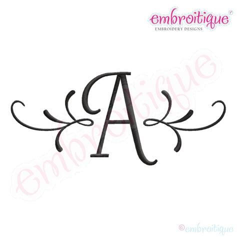 7 Best Images Of Monogrammed Letters Initials 3 Initial Best Fonts For Initials
