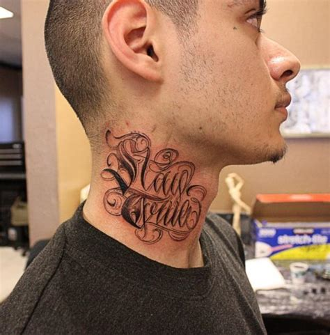 tattoo words for men neck tattoos for designs ideas and meanings tattoos