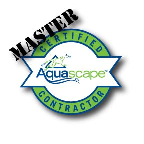 certified aquascape contractor master certified aquascape contractor pond contractor
