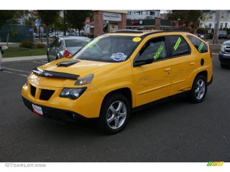 pontiac aztek yellow 2003 aztek yellow pontiac aztek awd 38549098 gtcarlot