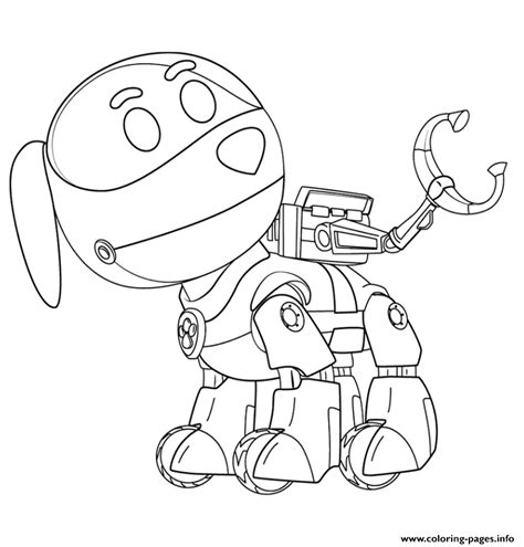 paw patrol puppies coloring pages paw patrol robo dog coloring pages printable