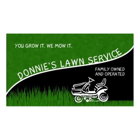 landscaping business cards exles quotes