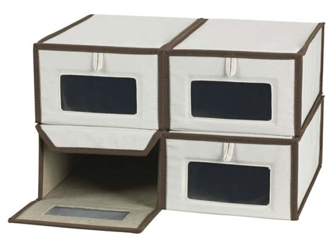 shoe storage boxes living in a shoebox 14 great ways to store your shoes