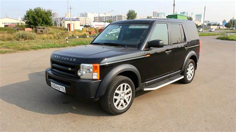 2007 Land Rover Discovery 3 Se Start Up Engine And In