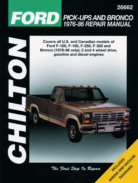 small engine maintenance and repair 1987 ford bronco ii electronic throttle control ford pick up manuals haynes clymer chilton workshop original factory car motorbike