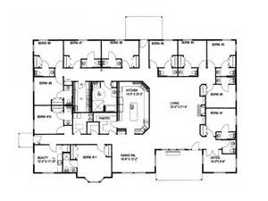 Floor Plans For Large Homes large ranch house plans smalltowndjs com