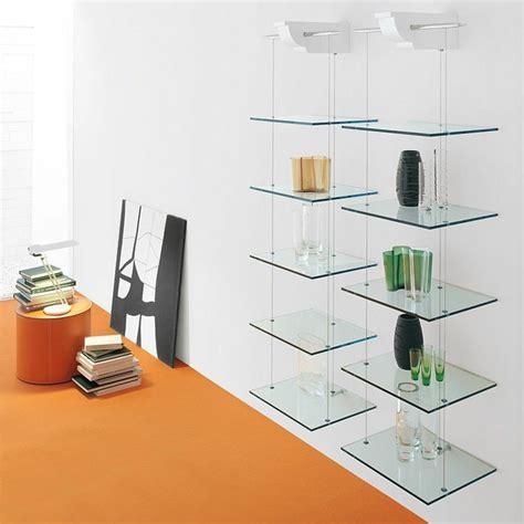 estantes de cristal estanter 237 as de madera o cristal para salones de dise 241 o
