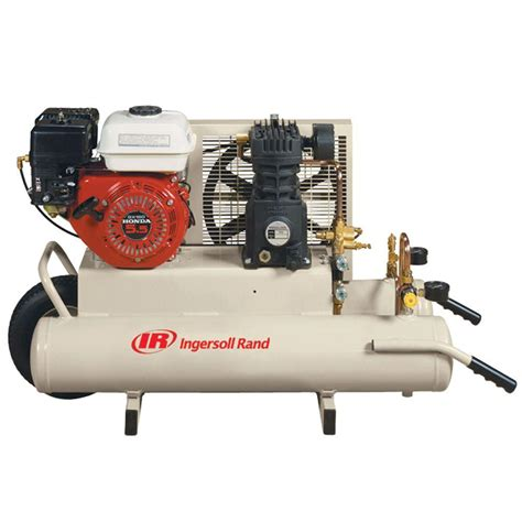 ingersoll rand compressor ingersoll rand reciprocating 8 gal 5 5 hp portable gas wheelbarrow air compressor ss3j5 5gh wb