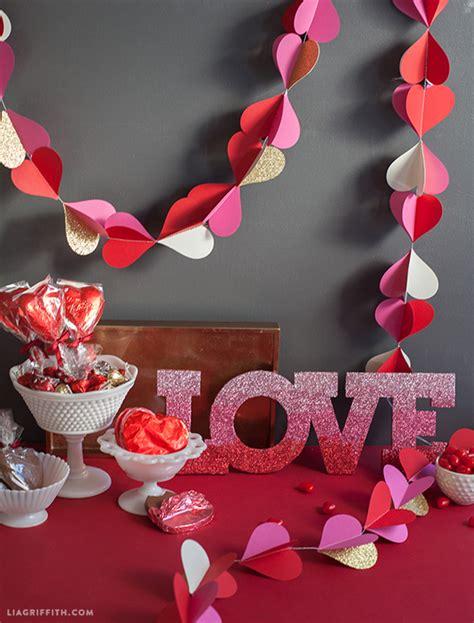 valentines day decor heart garland for valentine s day decor lia griffith