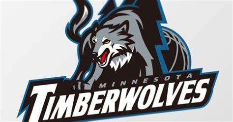Kaos Ordinal Nba Playoffs minnesota timberwolves logo concept