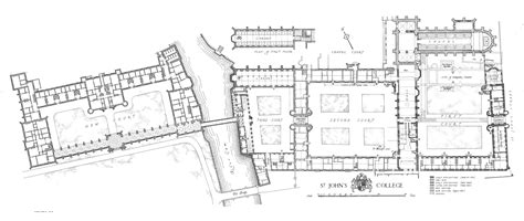 Site Plan Drawing Online st john s college british history online