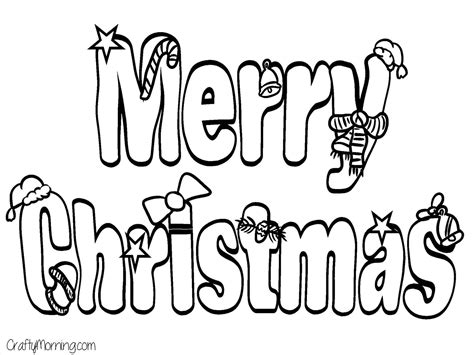 Merry Christmas Bubble Lettering Cheminee Website Merry Letters Coloring Pages