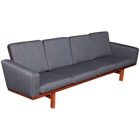 hans wegner 236 sofa hans wegner ge 236 4 sofa at 1stdibs