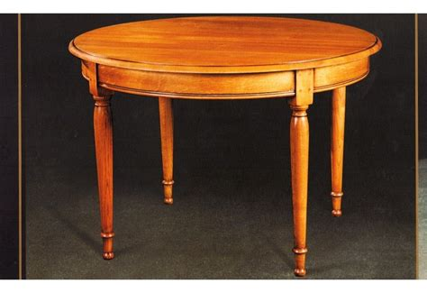 table ronde louis philippe table ronde merisier style louis philippe