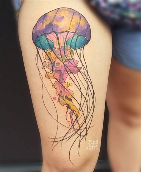 jelly bean tattoo jellyfish ideas on inspirationde