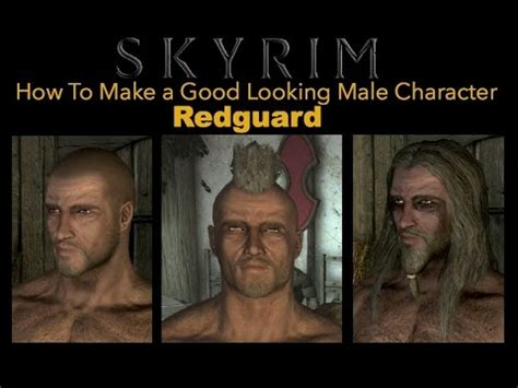 skyrim hot redguard skyrim special edition how to make a good looking