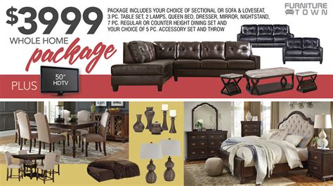 whole home packages furniture town