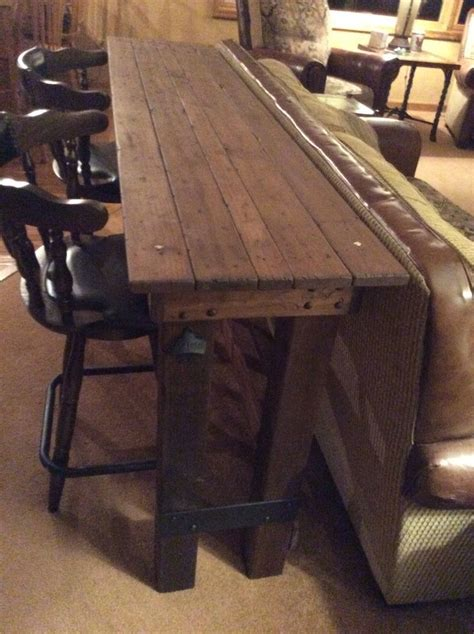 table to go behind couch 1000 ideas about table behind couch on pinterest behind