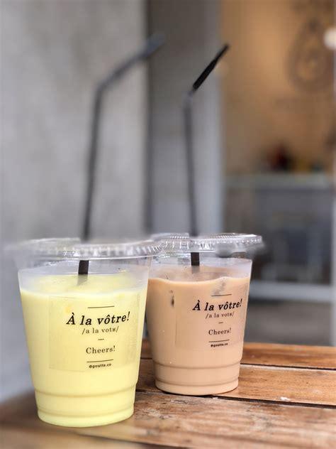 Minuman Di Coffee Bean And Tea Leaf goutte coffee tea bandung minum kopi sambil santai di taman pergidulu