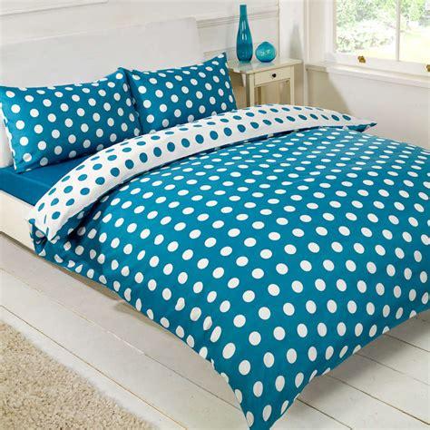 Single Bedding Sets 3 Spot Complete Duvet Set Single Blue 2646323 B M