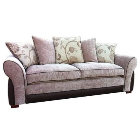 cream chenille sofa melbourne 3 seater sofa 220 x 90 x 90 cm chenille fabric