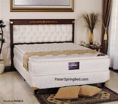 Kasur Uniland No 3 uniland pillow top bed headboard rosella
