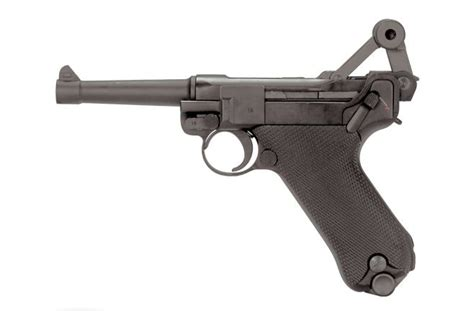 luger pistol airsoft gun kwc p08 luger airsoft pistol actionhobbies co uk