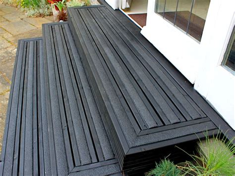 Deck Stain Grey by Anti Slip Decking Strips Step Strips For Slippery