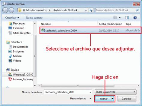 en el cuadro que aparece lo dejais como en la siguiente imagen probar datos adjuntos en los mensajes de correo