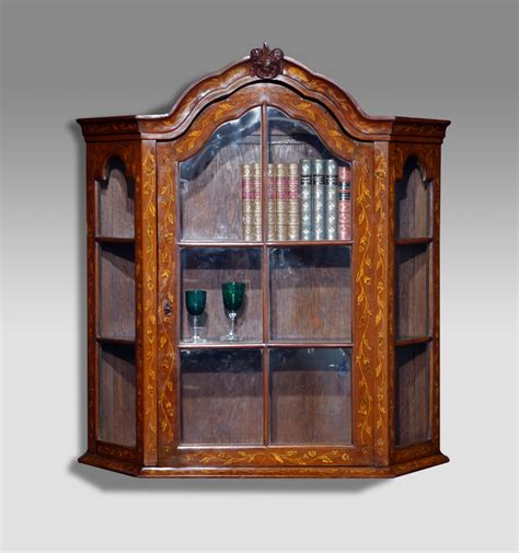 antique display cabinet marquetry display cabinet dutch