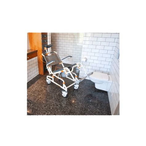 showerbuddy roll in shower chair with tilt by showerbuddy