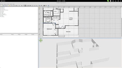 home design 3d linux get started with sweet home 3d on linux