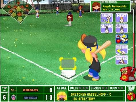 play backyard baseball 2003 lets play backyard baseball 2003 ep 9 pt 4 youtube