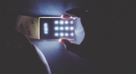 cell phone alert light is a light phone in your future extremetech