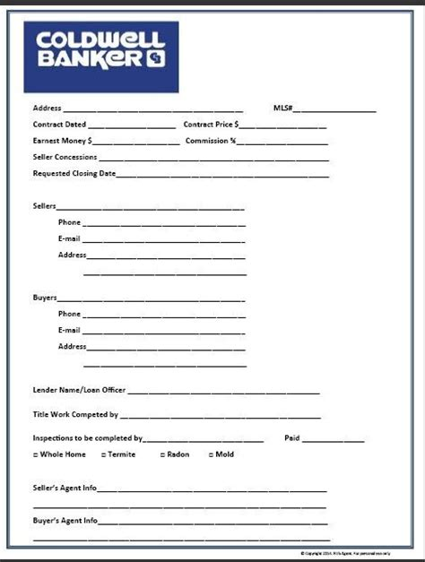 real estate documents templates real estate transaction closing form blue real estate
