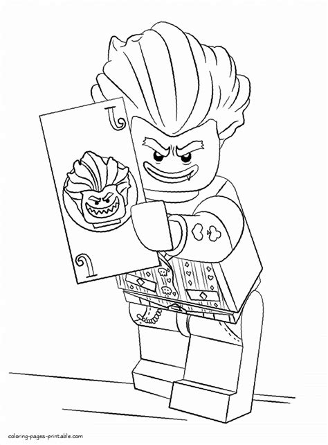 Batman And Joker Coloring Pages by Lego Batman 3 Coloring Pages With Joker