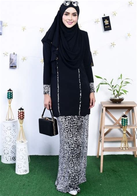 Baju Cantik Muslimah 17 baju kurung modern cantik dengan fesyen terkini 2018