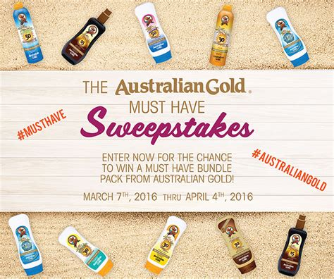 Sweepstakes Australia - familysavings 187 australian gold must have sweepstakes 187 print