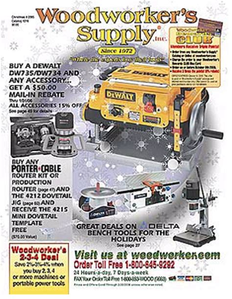 Woodworker S Supply Catalog