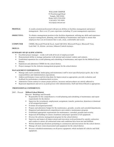 william cooper resume rev