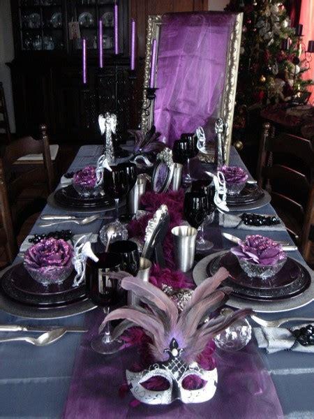 Deco Table Baroque by Decoration De Noel Noir Et Argent