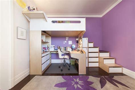 The 25 Best Loft Bed Desk Ideas On Pinterest Bunk Bed Cafe Kid Desk