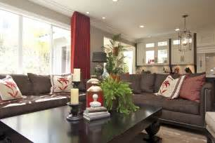 Living Room Or Family Room Stylish Transitional Family Room Before And After Robeson